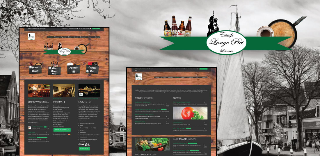 Eetcafe-Lange-Piet-Restaurant-website-maken